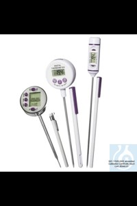 Bild von H-B DURAC Calibrated Electronic Stainless Steel Stem Thermometer, -50/300C