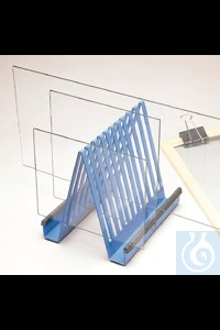 Bild von Bel-Art Electrophoresis Gel Plate Drying Rack; Steel, 7¾ x 6¼ x 7? in.