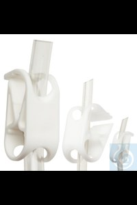 Bild von Bel-Art Acetal Mid-Range Plastic Tubing Clamps; For ? to 7/16 in. O.D. Tubing