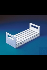Bild von Bel-Art Serum Vial Rack; For 10-13mm Vials, 72 Places
