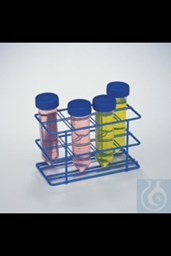 Bild von Bel-Art Poxygrid Centrifuge Tube Rack; For 50ml Tubes, 8 Places, Blue