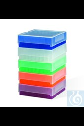 Bild von Bel-Art 81-Place Plastic Freezer Storage Boxes; Natural (Pack of 5)